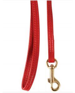 Zolux Laisse en cuir rouge pour chat 1 m- La Compagnie des Animaux