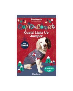 Rosewood Cupid Light Up Pull de Noël L - La Compagnie des Animaux
