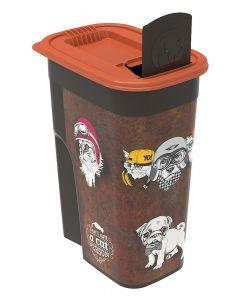 Rotho Mypet Pet Food Container VINTAGE chat/chien 4,1 L - La Compagnie des Animaux