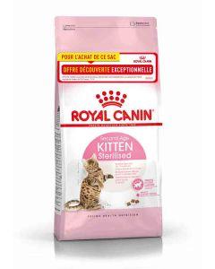 Royal Canin Feline Health Nutrition Kitten Sterilised 400 g