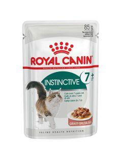 Royal Canin Feline Health Nutrition Instinctive 7+ 12 x 85 g - La Compagnie des Animaux