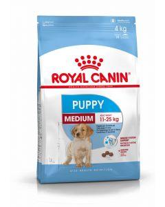 Royal Canin Puppy Medium 4 kg - La Compagnie des Animaux