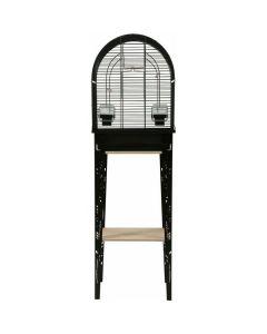 Zolux Cage Chic Patio Noir pour oiseaux S
