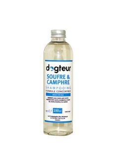 Shampooing PRO Dogteur Soufre et Camphre 250 mL- La Compagnie des Animaux