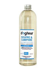 Shampooing PRO Dogteur Soufre et Camphre 500 mL- La Compagnie des Animaux