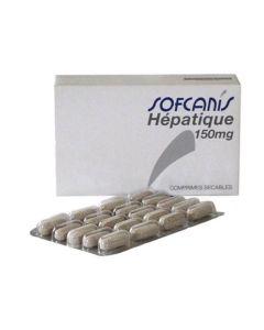 Sofcanis Hépatique 150 mg chien et chat 60 cps - La Compagnie des Animaux