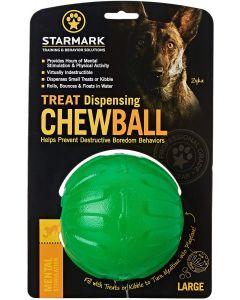 Starmark Jouet Treat Dispensing Chew Ball Ø 10cm L - La Compagnie des Animaux (2)