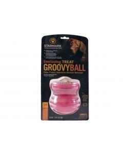 Starmark Jouet Everlasting Treat Groovy Ball Ø 12 x 13,5cm L - La Compagnie des Animaux