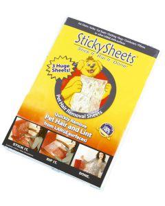 StickySheets feuilles adhésives anti poils - La Compagnie des Animaux