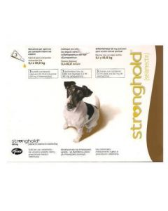 Stronghold 60 mg Chien 5-10 kg 3 pipettes