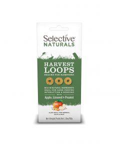 Supreme Selective Naturals Harvest Loops pour Hamsters 80 g - La Compagnie des Animaux