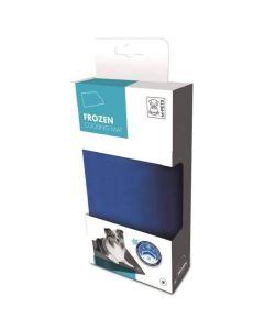 M-Pets Frozen tapis rafraichissant bleu S