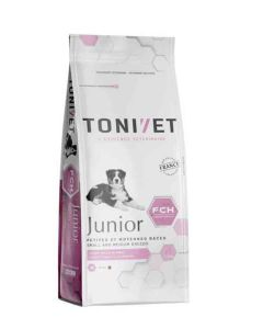 Tonivet Junior Petite et Moyenne Race chien 3 kg