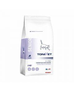 Tonivet Senior pour chat 2 kg - La Compagnie des Animaux