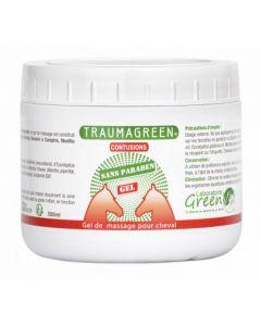 Traumagreen Gel de massage cheval 500 g