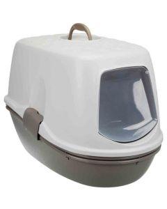 Trixie Bac à litière Berto Top avec système de séparation taupe