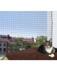 Trixie Filet de protection noir fenêtre pour chat 3 x 2 m