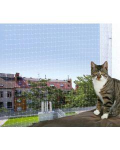 Trixie Filet de protection transparent fenêtre pour chat 4 x 3 m