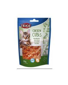 Trixie Premio Cubes au Poulet pour Chat 50 grs