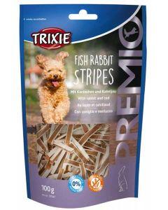 Trixie Premio Fish Rabbit Stripes pour chien 100 g- La Compagnie des Animaux