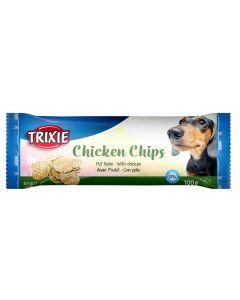 Trixie Snack Chips au poulet pour chien 100 g