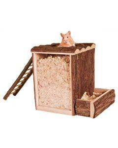 Trixie Tour de jeu et à creuser pour Hamster 25 × 24 × 20 cm