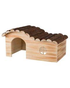 Trixie Natural Living Maison Hanna en bois flammé Souris et Hamsters