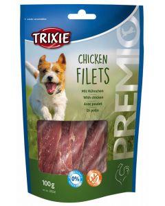 Trixie Premio Chicken Filets friandises chien 100 g - La Compagnie des Animaux