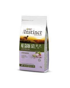 True Instinct No Grain Medium Maxi Adult Dinde 2 kg - La Compagnie des Animaux
