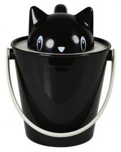 United Pets Crick conteneur noir pour chat 2 kg
