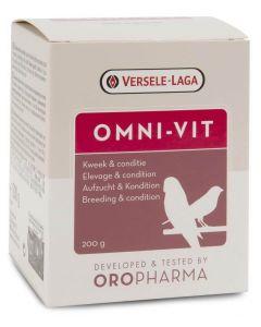 Versele Laga Oropharma Omni-Vit 200 gr - La Compagnie des Animaux