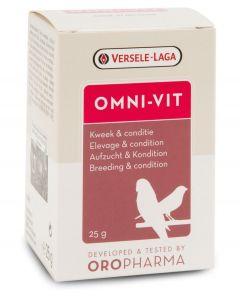 Versele Laga Oropharma Omni-Vit 25 gr - La Compagnie des Animaux