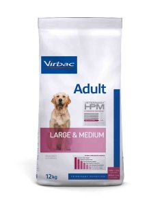 Virbac Veterinary HPM Adult Large & Medium Dog 12 kg- La Compagnie des Animaux