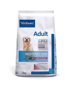 Virbac Veterinary HPM Adult Neutered Large & Medium Dog 3 kg- La Compagnie des Animaux