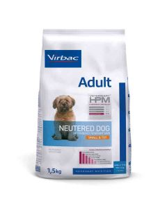 Virbac Veterinary HPM Adult Neutered Small & Toy Dog 1.5 kg- La Compagnie des Animaux