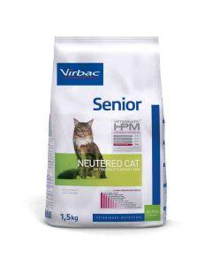 Virbac Veterinary HPM Senior Neutered Cat 1.5 kg- La Compagnie des Animaux