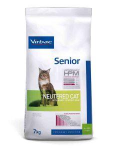 Virbac Veterinary HPM Senior Neutered Cat 7 kg- La Compagnie des Animaux