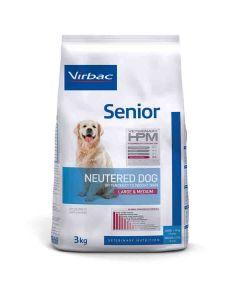 Virbac Veterinary HPM Senior Neutered Large & Medium Dog 3 kg- La Compagnie des Animaux
