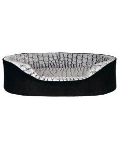 Trixie Vital lit Lino 110 × 92 cm noir/gris