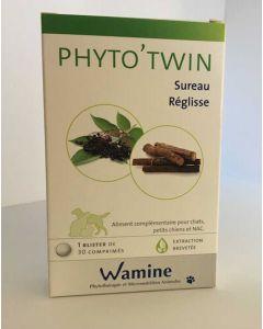 Wamine Phyto'Twin Sureau Réglisse 30 cps- La Compagnie des Animaux
