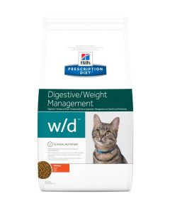 Hill's Prescription Diet Feline W/D 5 kg- La Compagnie des Animaux