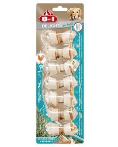 8in1 Delights Pro Dental Bone pour chien XS x 7 MULTIPACK lot de 6