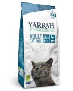 Yarrah Bio Croquettes au poisson MSC pour chats 10 kg- La Compagnie des Animaux