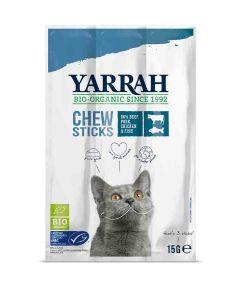 Yarrah Bio Snacks pour chat 3 x 15 grs- La Compagnie des Animaux