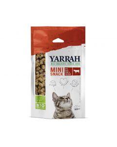 Yarrah Mini snack Bio pour chat 50 g