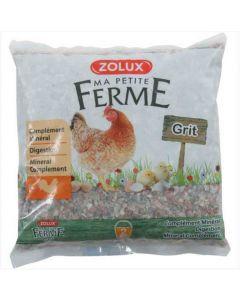 Zolux Grit pour poule 2 kg- La Compagnie des Animaux