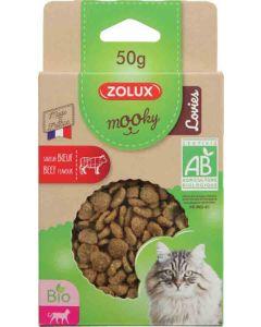 Zolux Mooky Bio chat lovies boeuf 50 g