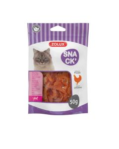 Zolux SNACK' Mini filet de poulet pour chat 50 g