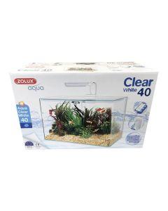 Zolux Aquarium Aqua Clear 40 blanc - La Compagnie des Animaux