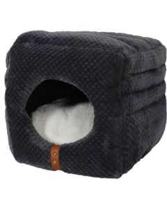Zolux Cube 2en1 Paloma gris pour chat